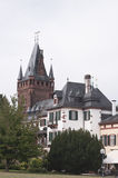 Ancient castle in Weinheim Royalty Free Stock Photography