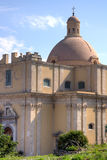 The ancient cathedral of Milazzo: detail Royalty Free Stock Photos