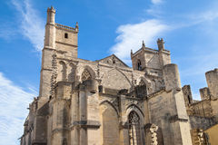 Ancient Cathedral of Narbonne Stock Photography