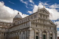 Ancient cathedral in Pisa Royalty Free Stock Images