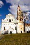 ancient Catholic church Royalty Free Stock Image
