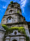 Ancient Catholic Church in Meycauayan, Bulacan, Philippines stock photos