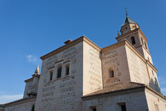 Ancient Catholic church in Montepulchano Stock Photo