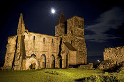 Ancient catholic church in Zsámbék Royalty Free Stock Images
