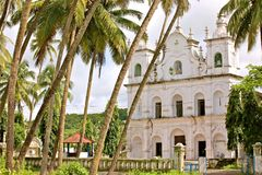 Ancient Catholic Convents of Goa Royalty Free Stock Photos
