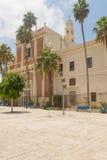 Ancient Catholic monastery in the Israeli city of Jaffa Royalty Free Stock Photography