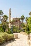 Ancient Catholic monastery in the Israeli city of Jaffa Royalty Free Stock Image