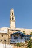 Ancient Catholic monastery in the Israeli city of Jaffa Stock Photography