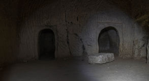 Ancient cave Stock Photography