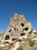 Ancient cave city in Goreme, Cappadocia, Turkey Royalty Free Stock Photography