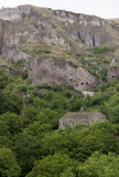 Ancient cave city of Khndzoresk. The cave city of Khndzoresk in Armenia stock images