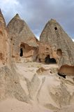 Ancient Caves in Goreme, Cappidocia. Ancient Caves in Goreme, Turkey Royalty Free Stock Image