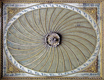 Ancient ceiling Stock Photography