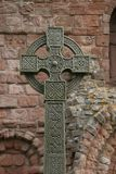 Ancient Celtic cross Stock Image