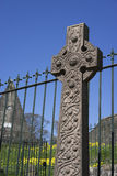 Ancient Celtic cross & monument - Scotland Stock Photography