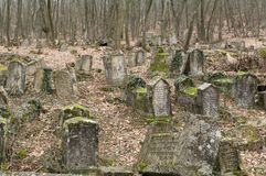 Ancient cemetery Stock Image