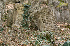 Ancient cemetery. The ancient cemetery of dying people Karaites. Based around the VI century BC. Religion-karaism, kind of Judaism Royalty Free Stock Photos