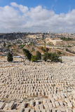 An ancient cemetery in Jerusalem Stock Photos