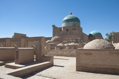 Ancient cemetery in old city of Khiva Royalty Free Stock Photo