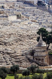 Ancient Cemetery at Olives Mountain, Jerusalem Stock Photo