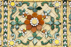 Ancient ceramic tiles Royalty Free Stock Photos