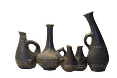 Ancient Ceramic Vases Stock Image