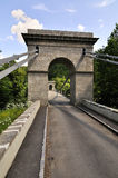 Ancient chain bridge Stock Photos
