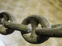 Ancient chain Stock Image