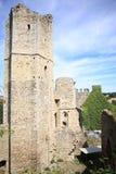 Ancient Chalucet Castle, France. Historic Castle Chalucet, ancient ruin, France Stock Image