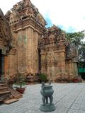 Ancient Cham temple, Vietnam royalty free stock images