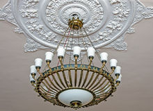 Ancient chandelier Royalty Free Stock Image
