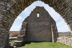 Ancient chapel ruin Royalty Free Stock Image