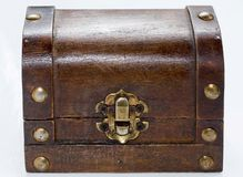 Ancient chest Royalty Free Stock Photo