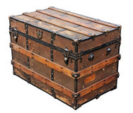 Ancient chest Royalty Free Stock Photos