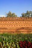 Ancient Chiangmai city wall. Royalty Free Stock Photography
