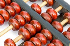 Ancient Chinese Abacus Royalty Free Stock Image