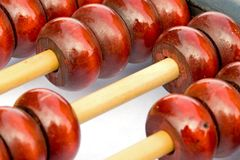 Ancient Chinese Abacus Stock Image