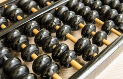 Ancient Chinese abacus Royalty Free Stock Photography