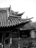 Ancient Chinese Architecture. Shots An Ancient Temple, Yunnan, China Royalty Free Stock Images