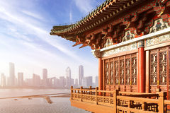 Ancient Chinese architecture Royalty Free Stock Images