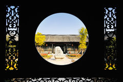 Ancient Chinese Architecture. This is China's best preserved a town hall, more than 200 years of history Royalty Free Stock Image