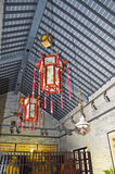 Ancient Chinese architecture interior details. Huangpu old port, located in the south of Huangpu district of Guangzhou, is the hinterland of the time-honored old Royalty Free Stock Photography