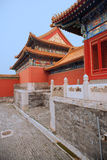 Ancient Chinese architecture, the national Palace Royalty Free Stock Photos
