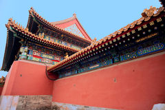 Ancient Chinese architecture, the national Palace Royalty Free Stock Image