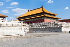 Ancient Chinese architecture Stock Image