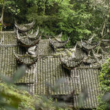 Ancient Chinese architecture roof Royalty Free Stock Photography