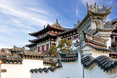 Free Ancient Chinese Architecture Under The Blue Sky Stock Photo - 76492100
