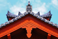 Ancient chinese architecutre Stock Photography