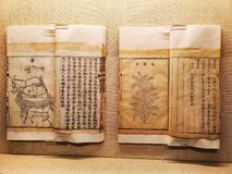 Ancient Chinese books on agriculture with diagrams