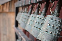 Ancient Chinese bronze chime Royalty Free Stock Photo